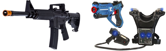 Laser Tag Equipment Examples