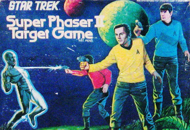 Star Trek Super Phaser 2 Target Game