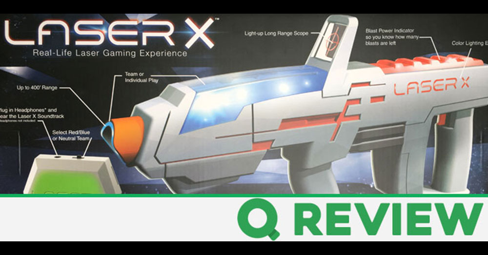 Q Review of the Laser X Long Range Blaster