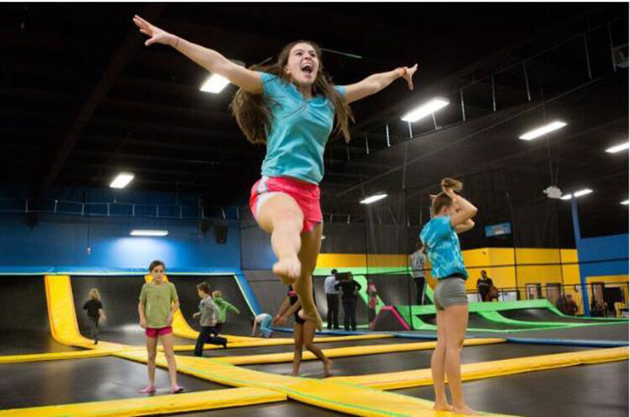 Bounce Trampoline Sports - North Bergen