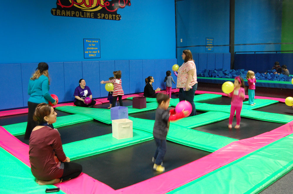 Bounce Trampoline Sports - Valley Cottage