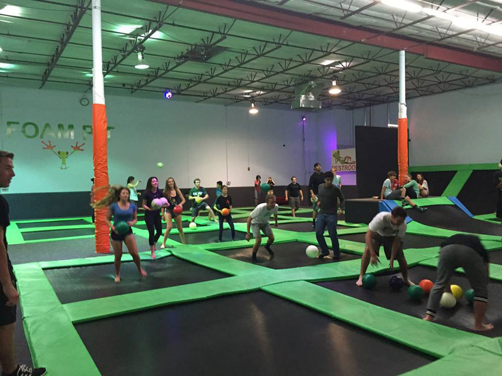 Cool Springz Trampoline Park Facility Image
