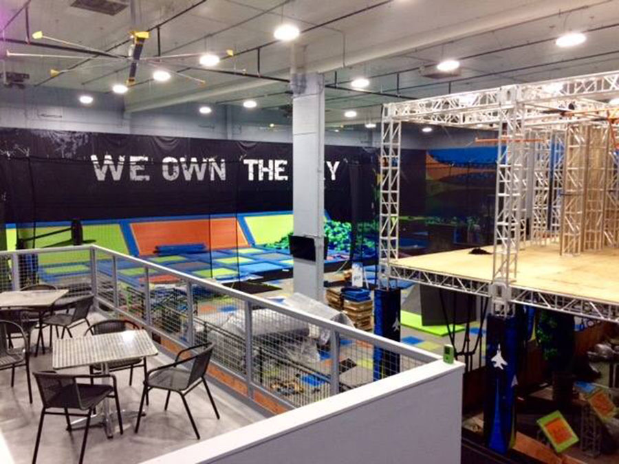 Fly Trampoline Park Facility Image