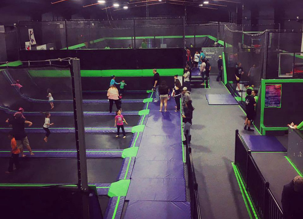 Hang Time Trampoline Park - Victoria