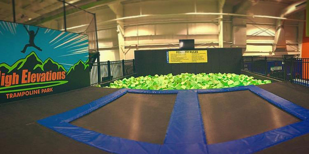 High Elevations Trampoline Park Facility Image