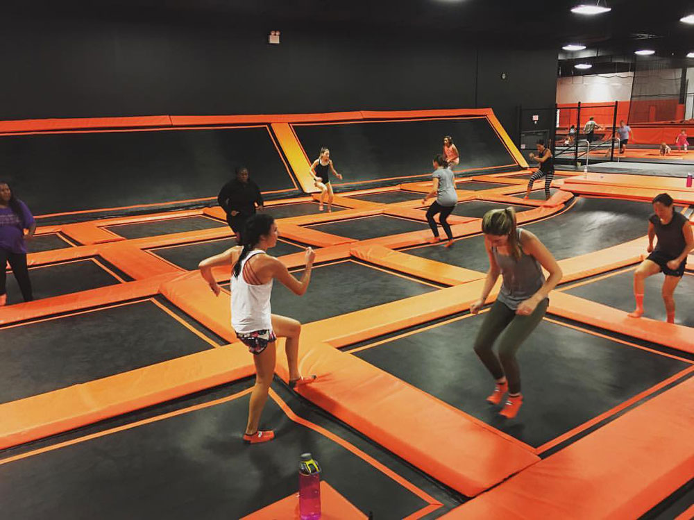 Jump Virginia Beach Trampoline Park Facility Image