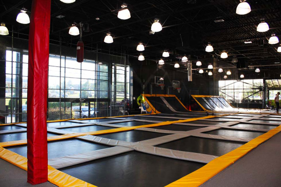 Jumpology Trampoline Arena Facility Image
