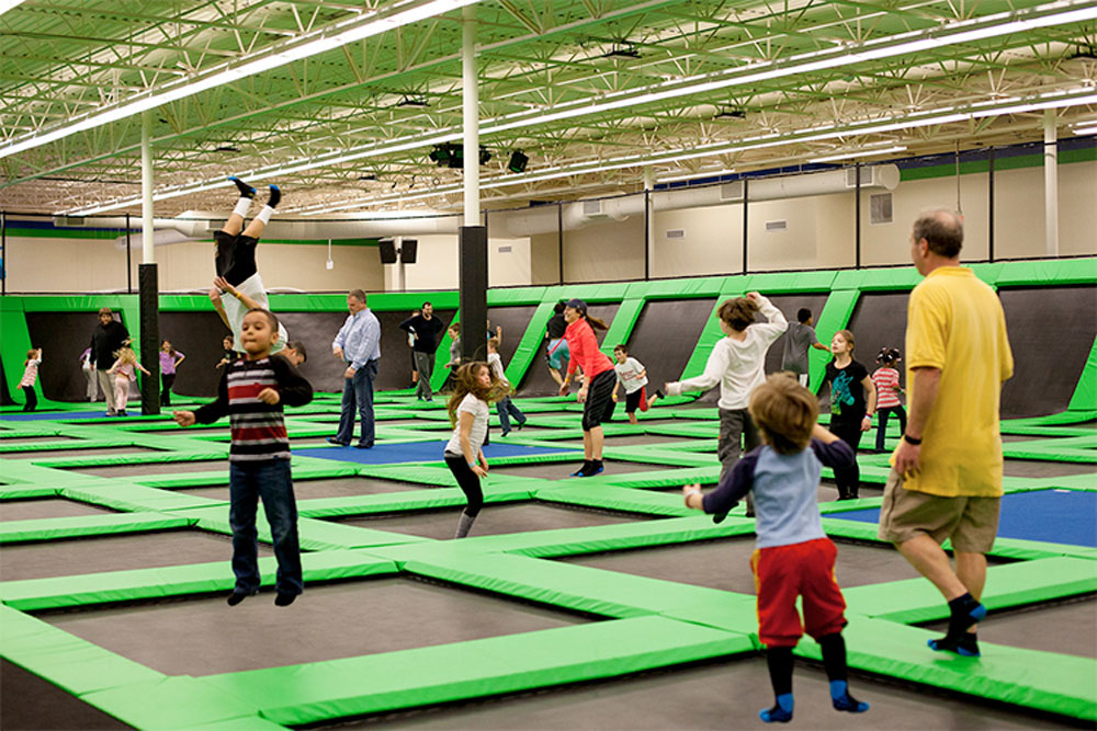 Launching Pad Trampoline Park - Raleigh Facility Image