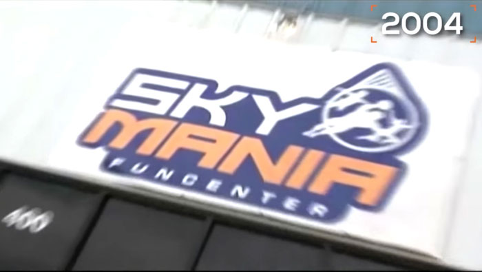Original Sky Mania Sign in 2004