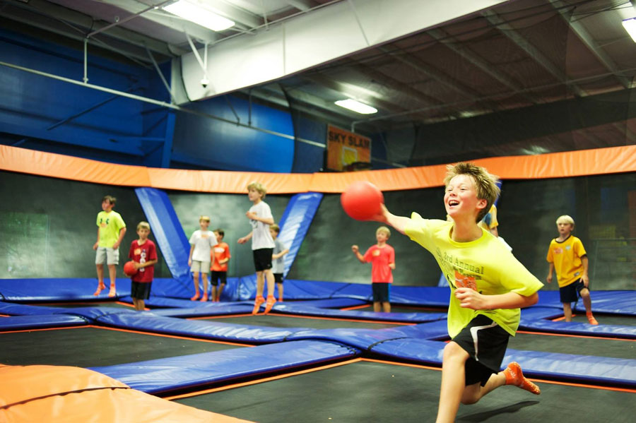 Sky Zone Charleston Facility Image
