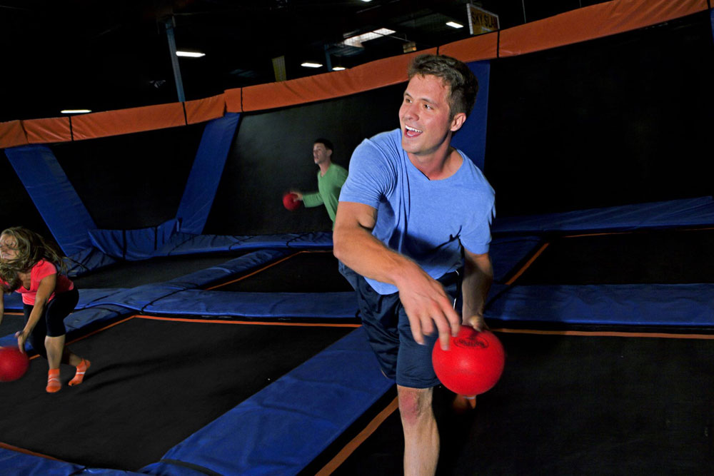 Sky Zone Columbus Facility Image