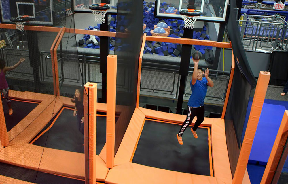 Sky Zone Fort Myers Facility Image