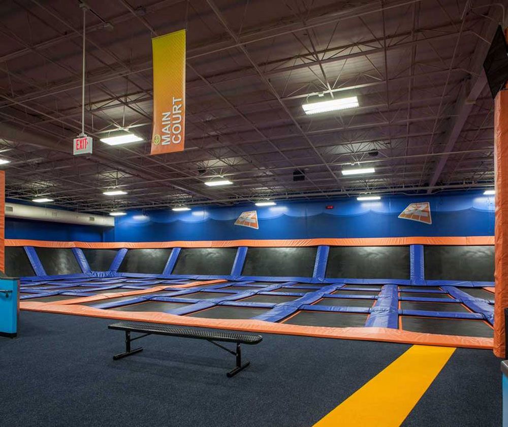 Sky Zone Grand Rapids Facility Image