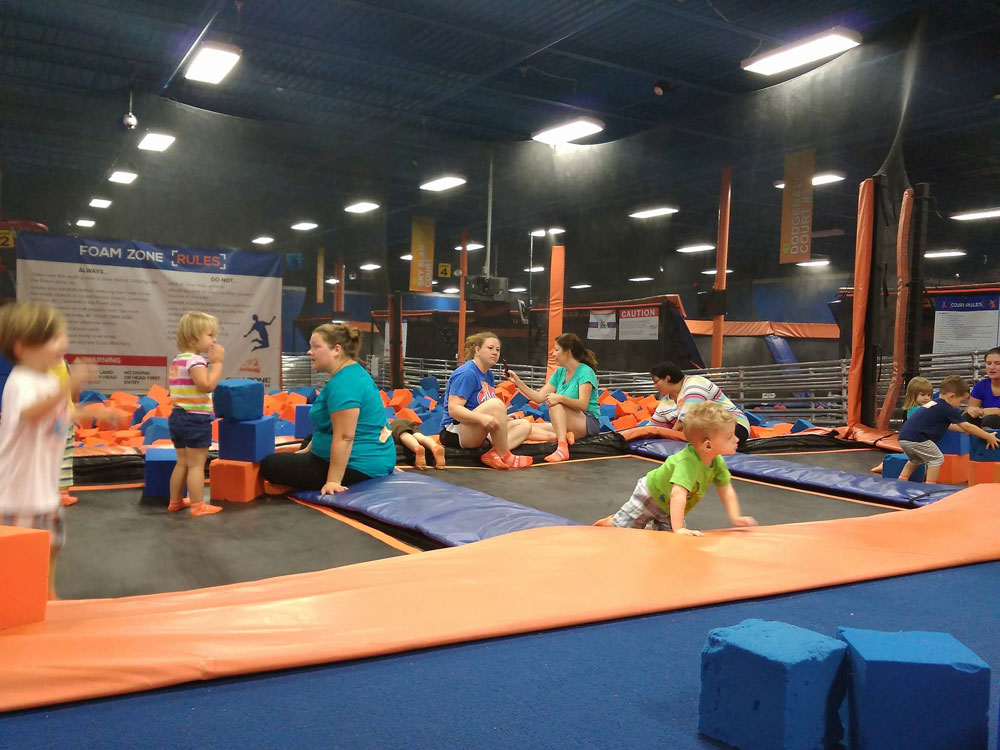 Sky Zone Greenville Facility Image