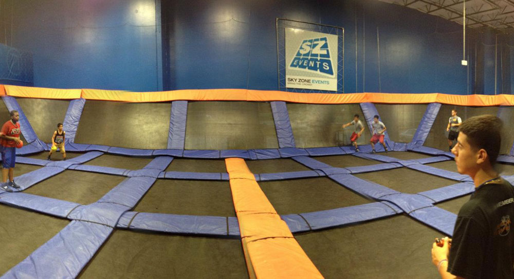 Sky Zone Houston Facility Image