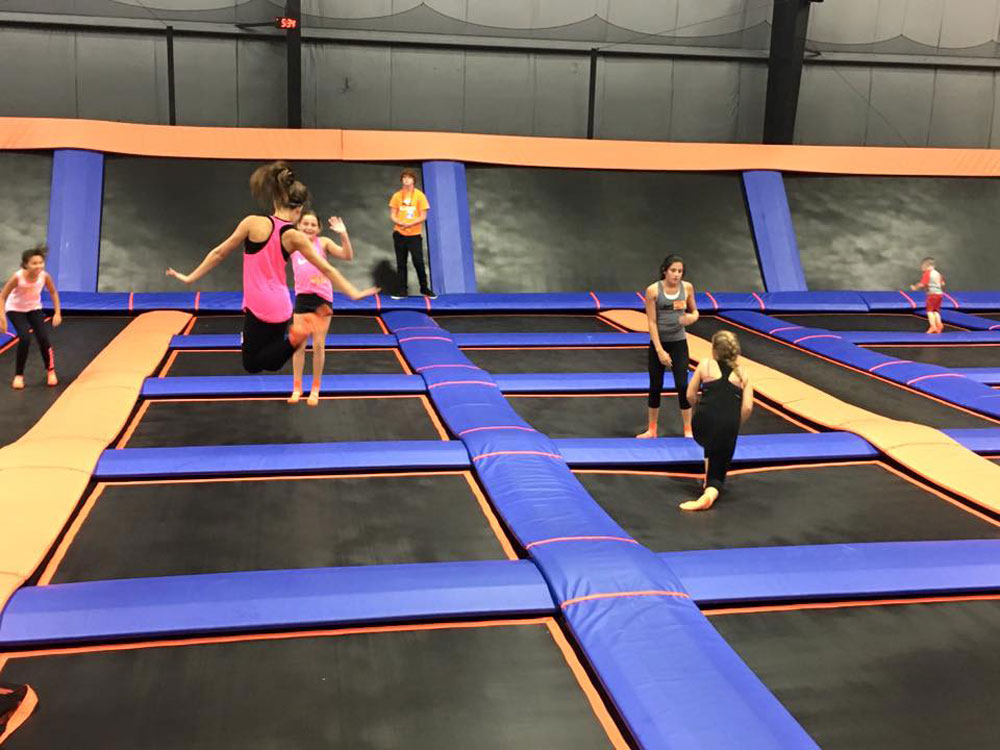 Sky Zone Indy South Facility Image