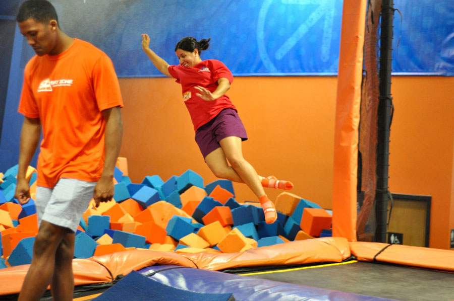 Sky Zone Levittown Facility Image