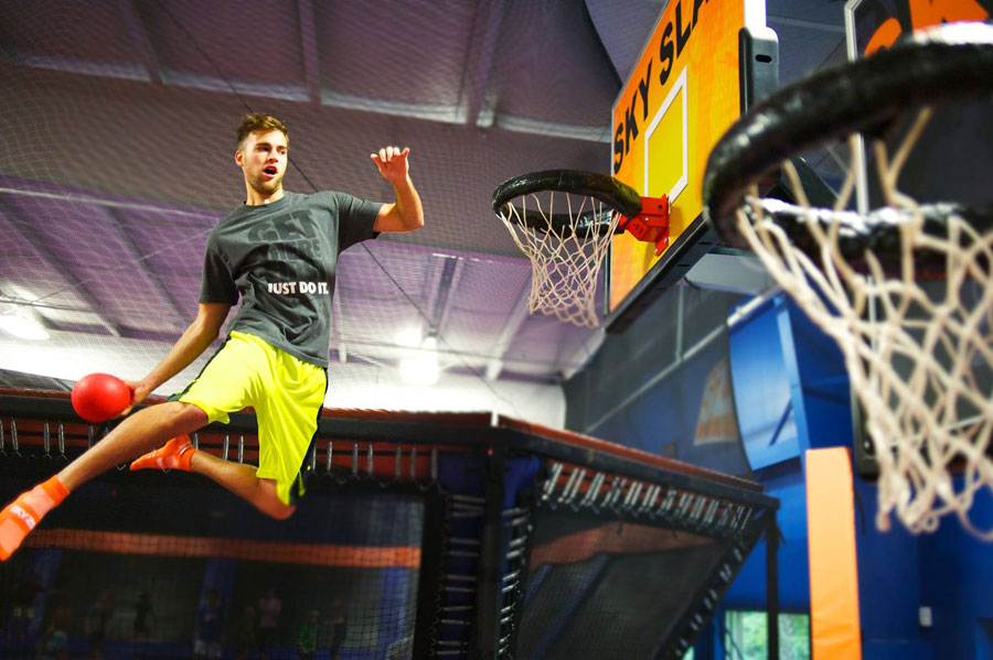 Sky Zone Newark Facility Image