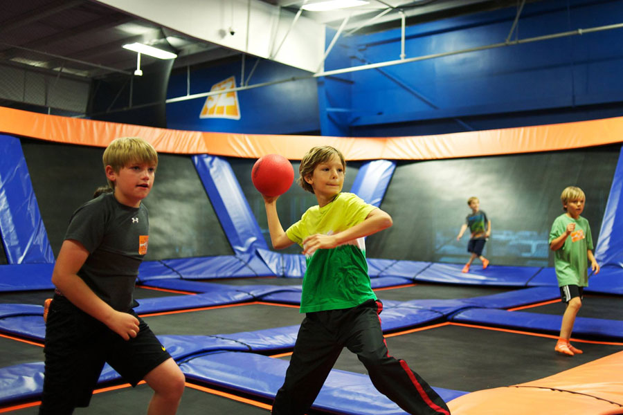 Sky Zone Raleigh Facility Image