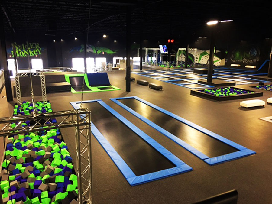 Spider Monkey Extreme Air Sports Facility Image