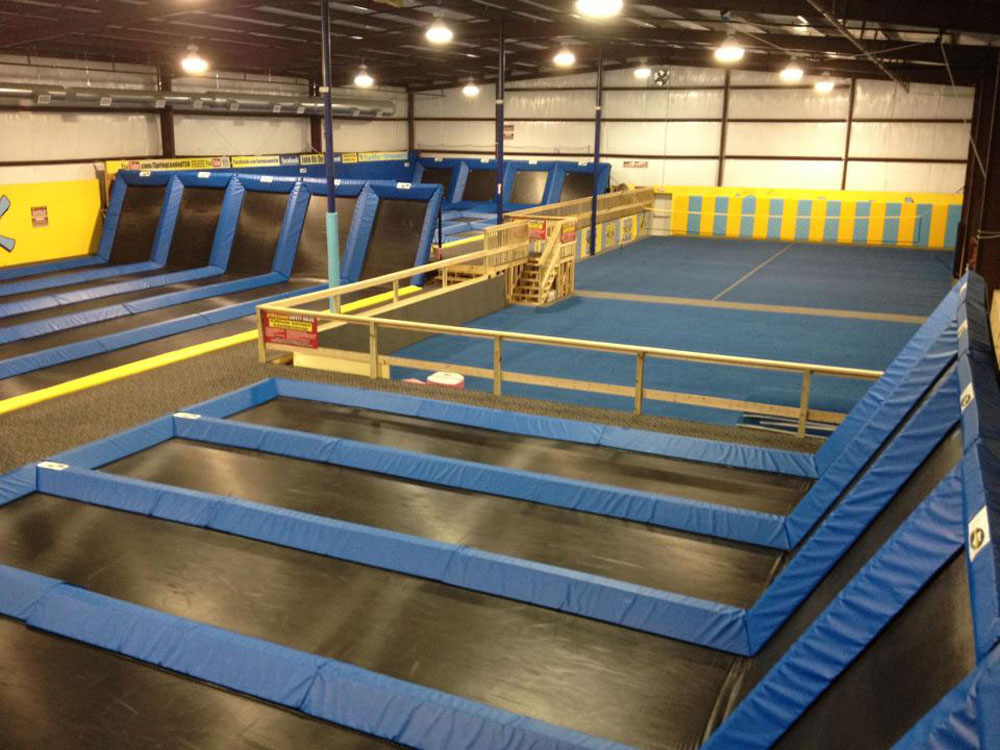 Spring Loaded Trampoline Park Facility Image