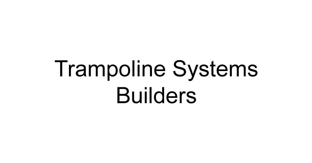 Trampoline Systems Builders Manufacturer Logo