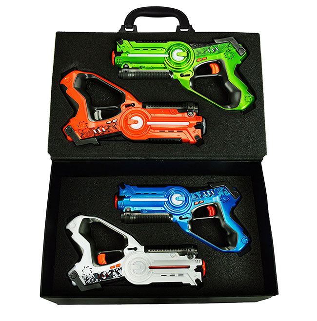 Dynasty Toys Laser Tag Set and Carrying Case