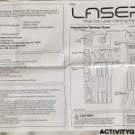 Laser X Gaming Tower Instructions Front