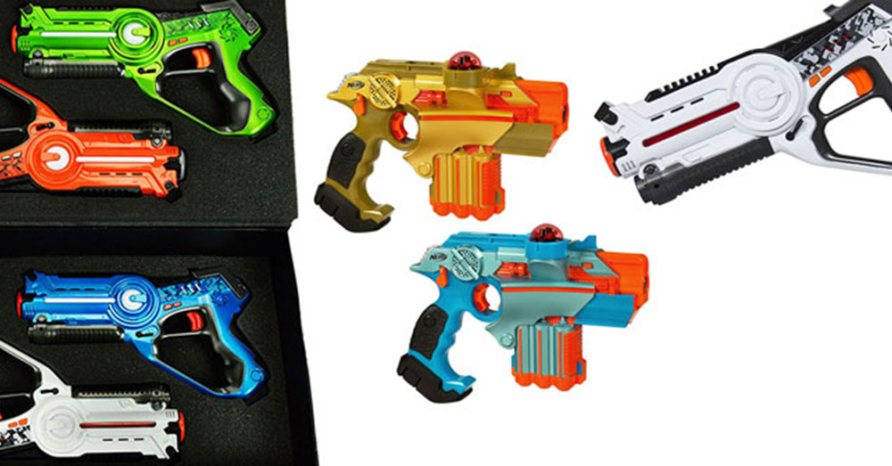 Featured Laser Tag Blasters
