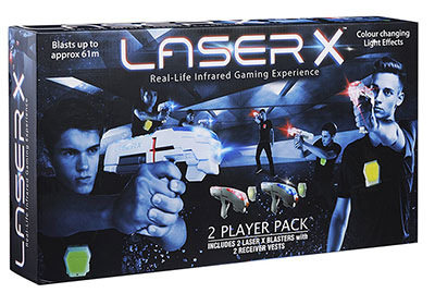Laser X Two Player Gaming Set Box