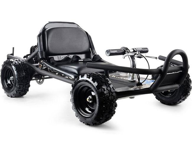 MotoTec Black Sandman 49cc Kart