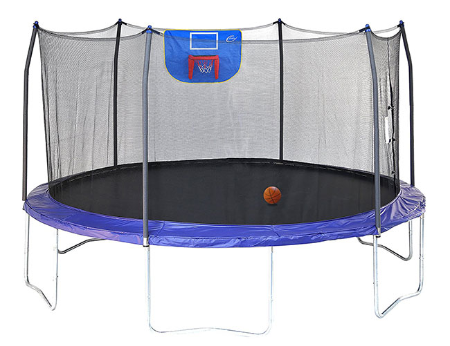 Skywalker 15 foot Jump n Dunk Trampoline