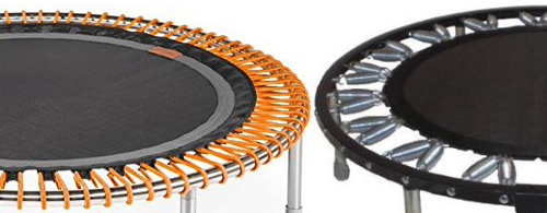 Springs vs Bungee Rebounder
