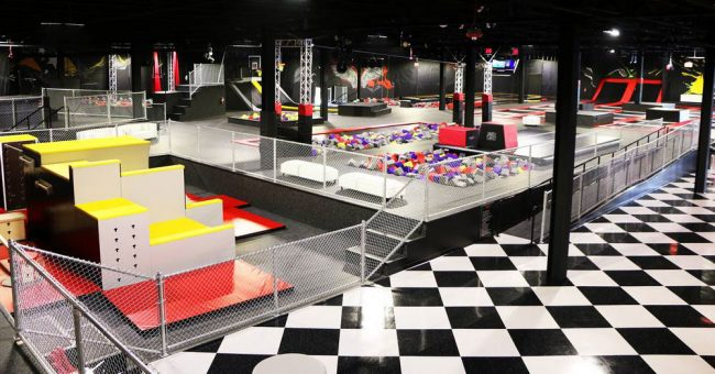 Trampoline Park Attraction Image