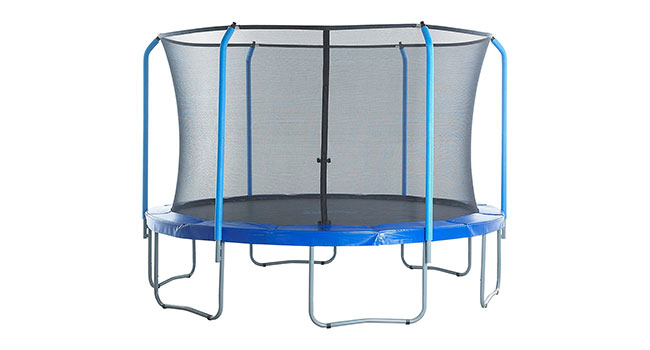 Trampoline with a Net