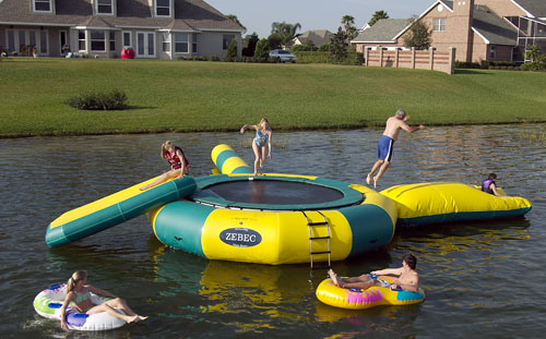 Water Trampoline Attachments