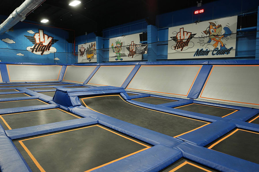 Fly High Indoor Trampoline Park Facility Image